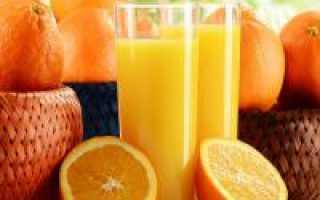Как и сколько хранить апельсиновый сок
