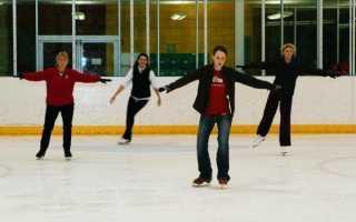 Как научиться кататься на коньках спиной вперёд