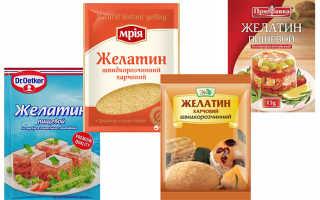Как добавить желатин в холодец
