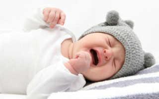 Что делать, если у грудного ребенка болит живот