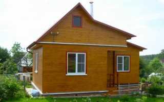 Как построить дешевый дачный дом