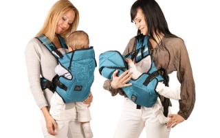 С какого возраста можно носить ребенка в кенгуру