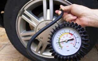 Как накачивать шины зимой