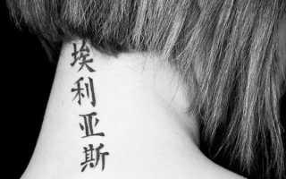 Что означает татуировка