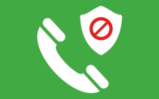 Как занести человека в телефоне в черный список