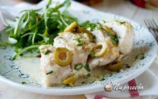 Как приготовить курицу в сырно-сливочном соусе