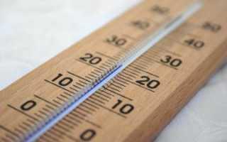 Как замерять температуру воздуха в квартире