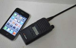 Сотовые телефоны как рация